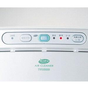 【空気清浄機】送料無料ツインバード〔TWINBIRD〕マイナスイオン発生空気清浄機AC-D358PWPWHおしゃれ|コンパクトおしゃれオシャレかわいいタバコハウスダストペット