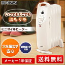 【あす楽】ミニオイルヒーター POH-505K-W500W ...