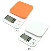スケール ドリテック デジタル オレンジ ホワイト キッチン おしゃれ