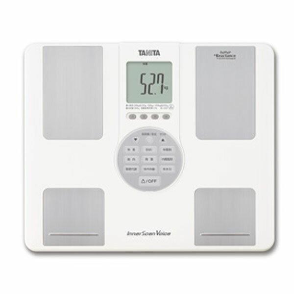 【送料無料】TANITA(タニタ) インナースキャンVoice BC-202 ホワイト【K】【体重計 ヘルスメーター 体組成計 体脂肪率 内臓脂肪レベル ダイエット インナースキャン】 おしゃれ