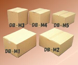 段ボールボックス(ダンボール) DB-M1【幅44×奥行32×高さ23.6(cm)】【アイリス…