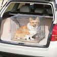 【ペット用】折りたたみケージ OKE-600 シルバー/ブラウン【アイリスオーヤマ】(サークル ケージ/ゲージ ケージ/犬 ケージ/ペット用品/ご家庭/ご家族の愛犬に/犬の移動檻)【買】
