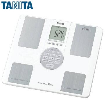 【送料無料】TANITA(タニタ) インナースキャンVoice BC-202 ホワイト【TC】【K】【体重計 ヘルスメーター 体組成計 体脂肪率 内臓脂肪レベル ダイエット インナースキャン】