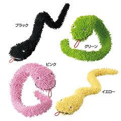 ヘビ型のモップ