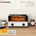 トースター 2枚 アイリスオーヤマ EOT-012-W オー...