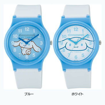 シチズンQ&Qウォッチ HC03-001・002腕時計 時計 シナモロール サンリオ 防水 シチズンQ&Q ブルー・ホワイト【D】