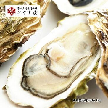 広島産牡蠣(カキ)1kg [加熱用・解凍後約850g]【かき】【牡蠣】【楽ギフ_のし】