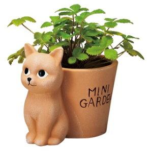 【全商品ポイントキャンペーン中】 S863  アニマルポット ネコ   ねこ/猫…