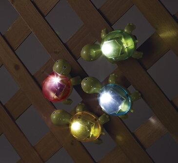 【02P01Oct16】【NEW】【全商品ポイントキャンペーン中】 S6254  ソーラーライト かめ 4色セット  /オブジェ/クリスマス/イルミネーション/ピック/オーナメント/置物/ガーデン雑貨/ガーデニング雑貨/母の日/父の日