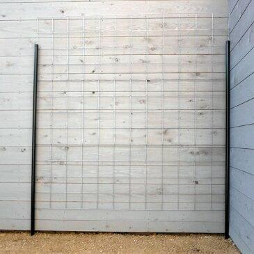 つるバラ用フェンス:カラマリーナVG(シルバーベーシック)