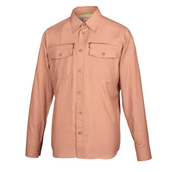 [送料無料]スコーロン・チェックシャツ・ブリック男性用Mサイズ