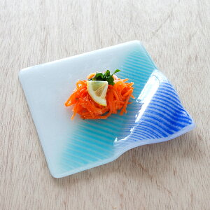 琉球ガラス 皿 小鉢 おしゃれ お祝い 米寿 プレゼント ペア 結婚祝い ギフト 退職祝い 男性 還暦祝い 喜寿 祝い ギフト プレゼント グラスアート藍 LAGOON プレート15cm