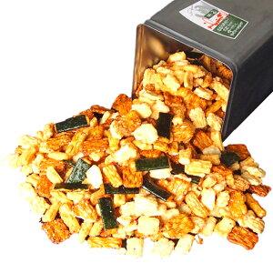 おかきせんべい詰め合わせ一斗缶2.5kg9種類大容量煎餅ギフトお得もち米ギフトにも最適