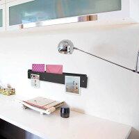壁面収納マグネットボード壁掛けラックおしゃれなポケットストリップ