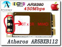 AirDrop対応最大リング450Mbps AR9380 (AR5BXB112 ) Mac Pro/MacBook用AirPort(AirMac) Extreme...