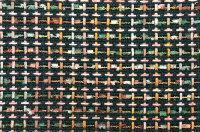 イギリス製ツイード生地【LINTON/リントン】シャネルツイードコットン・シルクファンシーツイード50cm単位