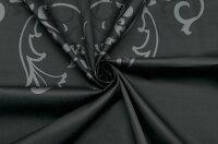 イタリア製【VERS】ストレッチコットン・サテンアールデコ・プリントワンピース着分2パネル2.4m単位生地・布
