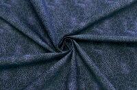 イタリア製【ETR】ピュアコットン・ブロード地織ドットxファイワーク・プリント1.8m単位生地・布