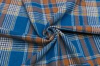 イタリア製ピュア・ウール先染めチェック1.8m単位生地・布