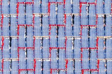 イギリス製 ツイード 輸入 生地【LINTON EXCLUSIVE LINE/リントン・エクスクルーシブ・ライン】シャネルツィードコットン・ブレンドファンシーツィード10cm単位 生地・布