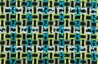 イギリス製ツイード輸入生地【LINTONEXCLUSIVELINE/リントン・エクスクルーシブ・ライン】シャネルツィードコットン・ウール・ブレンドファンシーツィード10cm単位生地・布