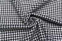 イタリア製輸入生地コットン・ポリアミドバスケット織り1.5m単位生地・布