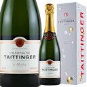 ワイン スパークリング シャンパン テタンジェ ブリュット・レゼルヴ [ボックス付] / テタンジェ フランス シャンパーニュ / 750ml / スパークリング