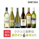 ワイン ワインセット クチコミ高評価白ワイン6本セット WW1-2 [750ml x 6] 送料無料