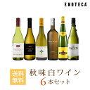 ワイン ワインセット 秋味白ワイン6本セット WW10-2 [750ml x 6]
