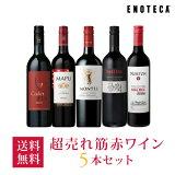 ワイン ワインセット 超売れ筋赤ワイン5本セット RC1-1 [750ml x 5] 送料無料
