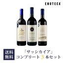 ワイン ワインセット イタリアワインの至宝「サッシカイア」 コンプリート3本セット SS1-1 [750ml x 3]