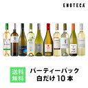ワイン ワインセット パーティーパック 白だけ10本 BQ7-3 [750ml x 10] 送料無料