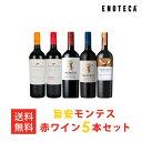 ワイン ワインセット 旨安モンテス赤ワイン5本セット [750ml x 5] 送料無料