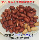 2020年度産 新豆 素煎(ナカテユタカ)450g千葉県八街産落花生【剥き ピーナツ ピーナッツ】 2