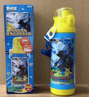 スケーター ステンレス製ダイレクトステンレスボトル(保冷専用)600mlワンプッシュダイレクトボトル/遠足/水分補給/お出かけ/ネームプレート/ショルダーベルト付き