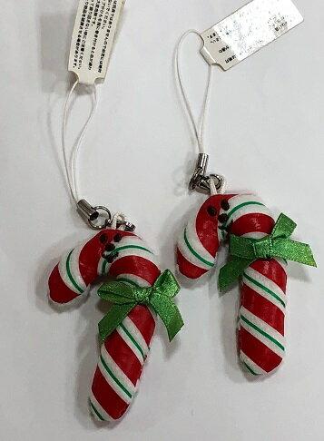 グラディーgladeeクリスマス限定♪キーホルダー キャンディスティックプレゼント/プチプラ