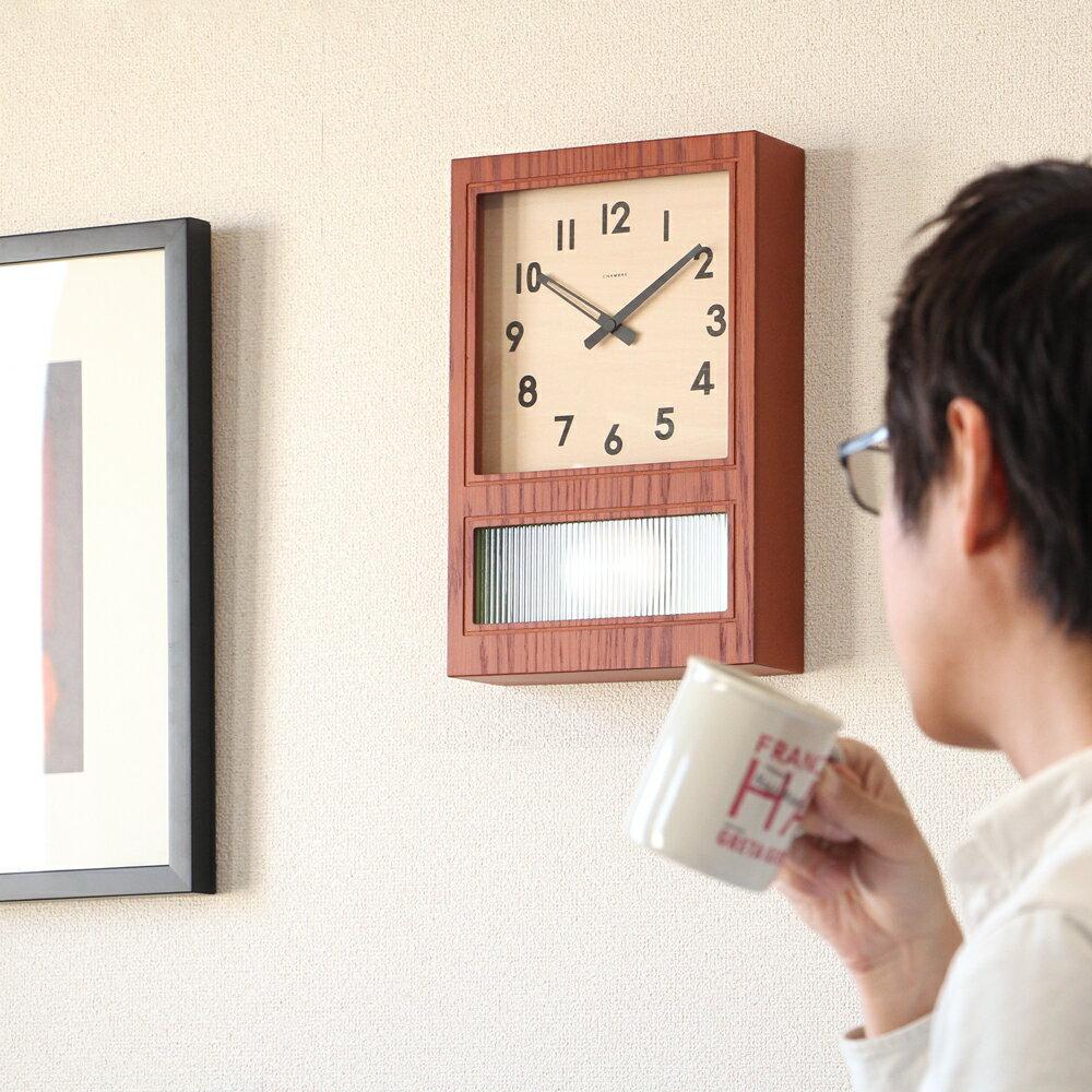 置き時計・掛け時計, 振り子時計 CHAMBRE FROSTED PENDULUM CLOCK INTERZERO
