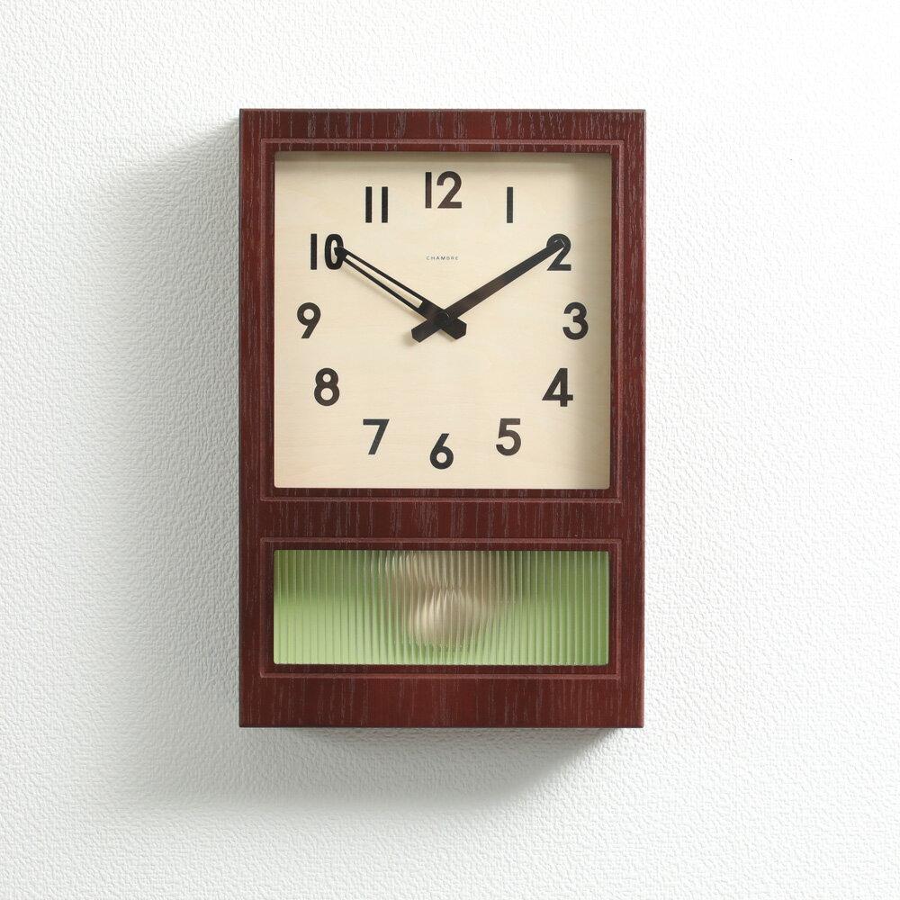 置き時計・掛け時計, 振り子時計 12CHAMBRE FROSTED PENDULUM CLOCK INTERZERO