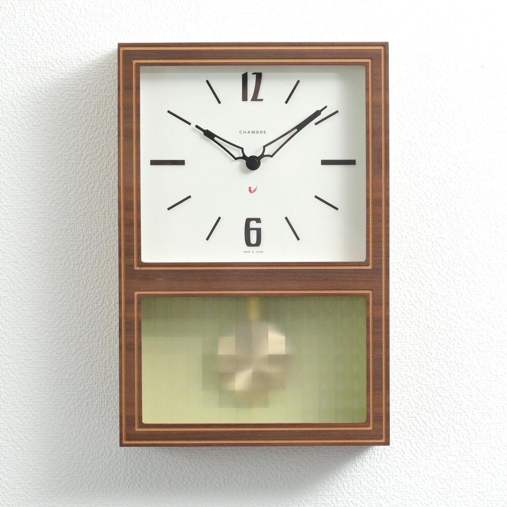 置き時計・掛け時計, 振り子時計 12CHAMBRE GLASS PENDULUM CLASSIC INTERZERO