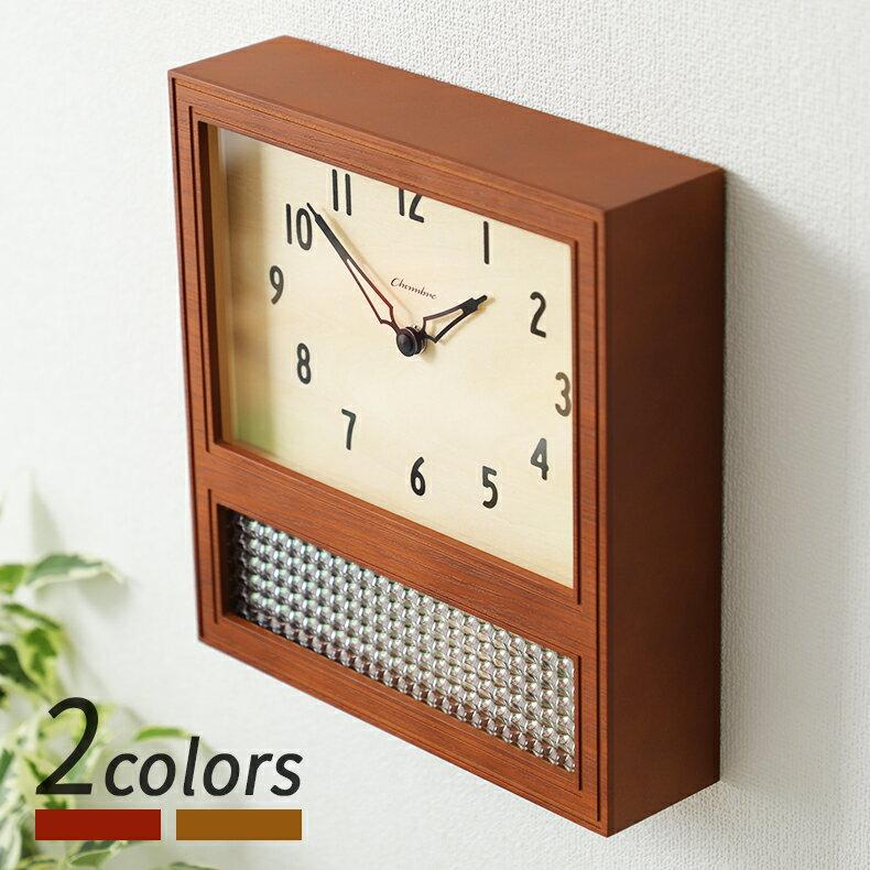 置き時計・掛け時計, 掛け時計 12 CHAMBRE COURT PENDULUM CLOCK WALNUT CH-057WN INTERZERO