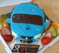乗り物ケーキ5号サイズ(車、電車。新幹線)乗り物デコレーション  立体ケーキ 誕生日ケーキ バースデーケーキ お菓子工房アントレ