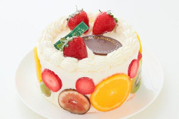 スペシャルレインボーケーキ5号サイズ 誕生日ケーキ バースデーケーキ ホールケーキ ケーキ ホール レインボー 虹 かわいい 可愛い おしゃれ お取り寄せ お菓子工房アントレ