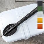 カトラリーセットKLIKKカトラリーセット3ブラックKOZIOLコジオルコジオルカトラリープラスチック食器アウトドアエコロジーリサイクル持ち運び便利コンパクトお弁当