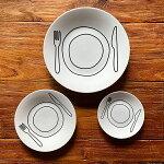 お皿プレートプレート17cmホワイトduncanshottonダンカンショットン皿プレート陶器食器シンプルかわいいオシャレ食洗機電子レンジ対応