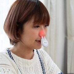【1年保証付】鼻ヘルパーハナヘルパー花粉ほこり鼻スッキリはなヘルパー薬剤不使用ノーズ鼻腔近赤外線可視光線ケース付きhanahelper国内正規品