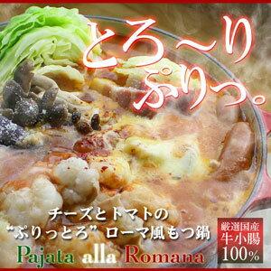イタリアンもつ鍋 セットのお取り寄せ![送料無料] トマト鍋と博多 もつ鍋 がコラボ! 絶品スープ...