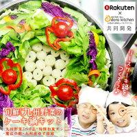 インスタ映えする九州野菜のケーキ鍋_野菜ケーキ鍋
