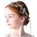 ヘアアクセサリー ヘッドドレス 子供 髪飾り 女の子 キッズ リボン ...