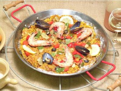 パエリア鍋26cmパエリア用鍋プロ用パエリアパン直径26cmスペインバレンシア製キッチン雑貨