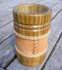 マテ茶 容器 茶器 マテつぼ マテ壷 マテカップ マテ壺 マテツボ グァンパ グアンパ  筒型木製パロサント (南米飲料マテ茶の茶器)あす楽